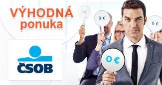 Cestovné poistenie výhodne a online na ČSOB.sk