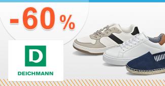 Ponuka týždňa až -60% ZĽAVY na Deichmann.sk