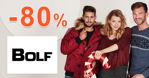 Posledné kusy až -80% na Bolf.sk, kupón, akcia, zľava