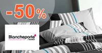 Posteľná bielizeň až -50% na BlanchePorte.sk