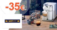 Poukaz 35€ ku kávovarom Nespresso na Datart.sk