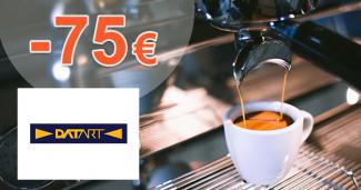 Poukaz 75€ ku kávovarom Nespresso na Datart.sk