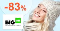 Povianočný VÝPREDAJ až -83% na BigON.sk