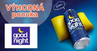 Prírodný drink pre lepší spánok na GNdrink.sk