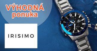 Predĺžená záruka 3 roky k nákupu na IRISIMO.sk