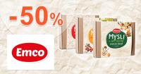 Zvýhodnené produktové boxy až -50% na Emco.sk