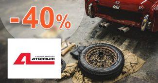 Promo akcie so zľavami až do -40% na Atomium.cz
