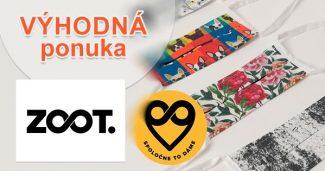 Rúško ku nákupu a doručenie zdarma na ZOOT.sk