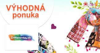 Rúško zdarma ako darček k nákupu na Differenta.sk