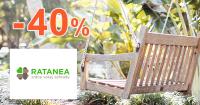 Ratanový nábytok až -40% zľavy na Ratanea.sk