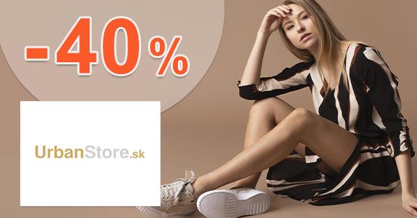 Ready for Summer → až -40% zľavy na UrbanStore