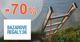 Rebríky a lešenia až do -70% na BazaroveRegaly.sk