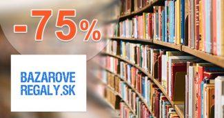 Profesionálne regály až -75% na BazaroveRegaly.sk