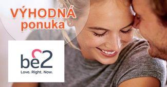 Registrácia zadarmo na online zoznamke na Be2.sk
