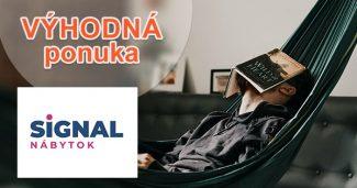 Rýchle doručenie až domov na SIGNAL-nabytok.sk