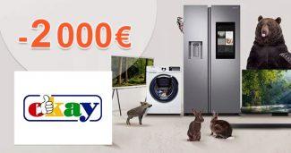 Samsung cashback až -2000€ za nákup na Okay.sk