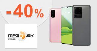 Akčné ponuky na mobily až -40% zľavy na MP3.sk