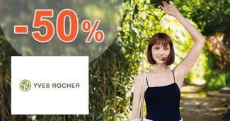 Sezónny výpredaj až do -50% na Yves-Rocher.sk