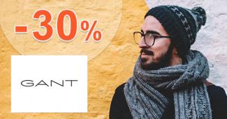 Sezónny výpredaj pre mužov až -30% na GANT.sk