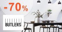 Výpredaj so zľavami k nákupu až -70% na Butlers.sk