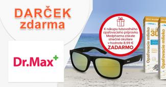 Slnečné okuliare k nákupu ZADARMO na DrMax.sk