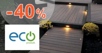 Solárne osvetlenie až -40% zľavy na EcoProdukt.sk