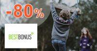 Sortiment pre voľný čas až -80% na BestBonus.sk