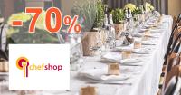 Sortiment pre stolovanie až -70% na ChefShop.sk