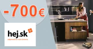 Spotrebiče Electrolux s cashbackom 700€ na Hej.sk