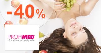 Starostlivosť o telo až -40% zľavy na ProfiMed.eu