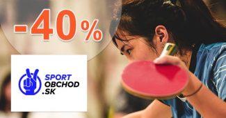 Stolný tenis vo výpredaji až -40% na SportObchod
