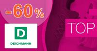 TOP AKCIA až -60% zľavy na obuv na Deichmann.sk