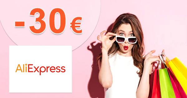 Tajné zľavové kupóny až -30€ zľavy na AliExpress