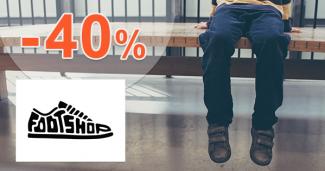 Topánky pre deti 3-8 rokov až -40% na FootShop.sk