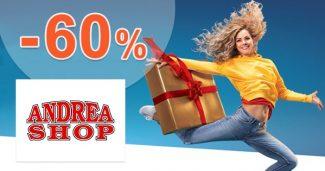 Top produkty pre šport až -60% na AndreaShop.sk