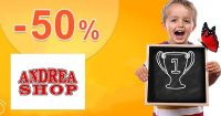 Top tovar značky LEGO až -50% na AndreaShop.sk