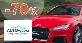Totálny výpredaj až -70% zľavy na AUTOvybava.sk