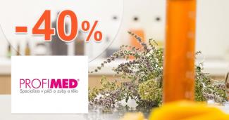 Tovar pre zdravie a domov až -40% na ProfiMed.eu