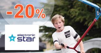 Elektrické kolobežky až -20% na Electronic-Star.sk