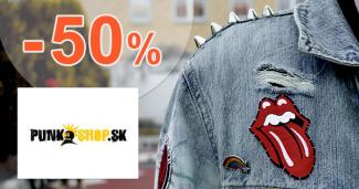 Bundy so zľavou až -50% na PunkShop.sk