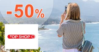 Turistické vybavenie až -50% zľavy na TopShop.sk