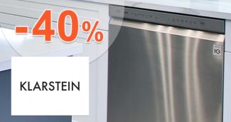 Umývačky riadu až -40% zľavy na Klarstein.sk