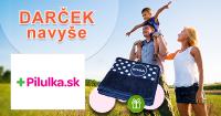 Uterák ZADARMO k nákupu na Pilulka.sk, kupón, akcia, poukážka