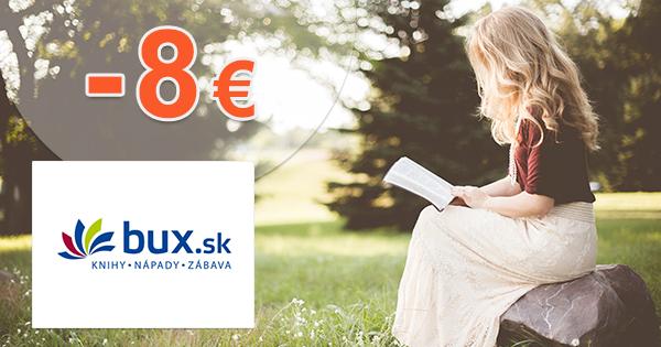 Uvádzacie zľavy až -8€ na Bux.sk
