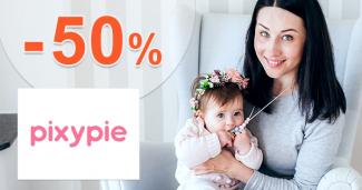 Akcie a špeciálne ceny až -50% na Pixypie.com