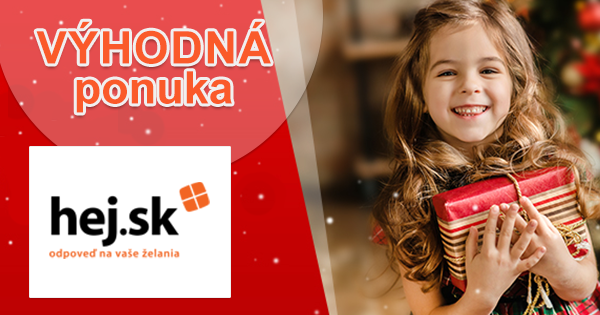 Vianočné tipy na darčeky pre malé deti na Hej.sk