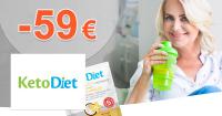 Výhodné akcie až -59€ zľavy na KetoDiet.sk