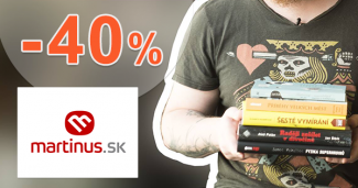 Výhodné kolekcie kníh a e-kníh až -40% na Martinus.sk