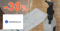 Dezinfekcie v akcii až -30% zľavy na PekneRuska.sk
