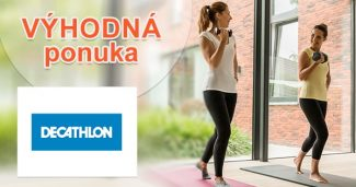 Zákaznícka karta plná extra výhod na Decathlon.sk